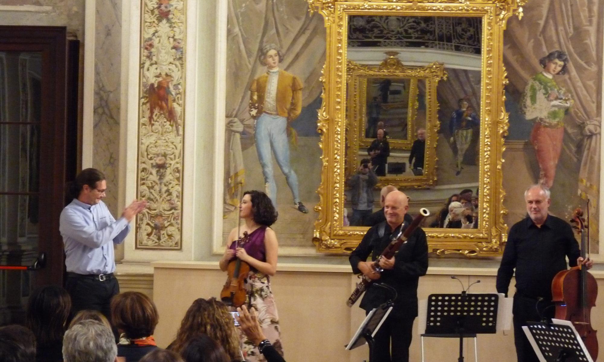 Premiere Trio Violino Violoncello e Fagotto - Emy Bernecoli, Walter Vestidello, Francesco Fontolan -- compositore: Elia Andrea Corazza
