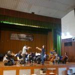 Elia Andrea Corazza, conductor. Concorso Cilea XLI edizione. La Grecìa orchestra. Palmi, RC, Italy, October 14th, 2017.